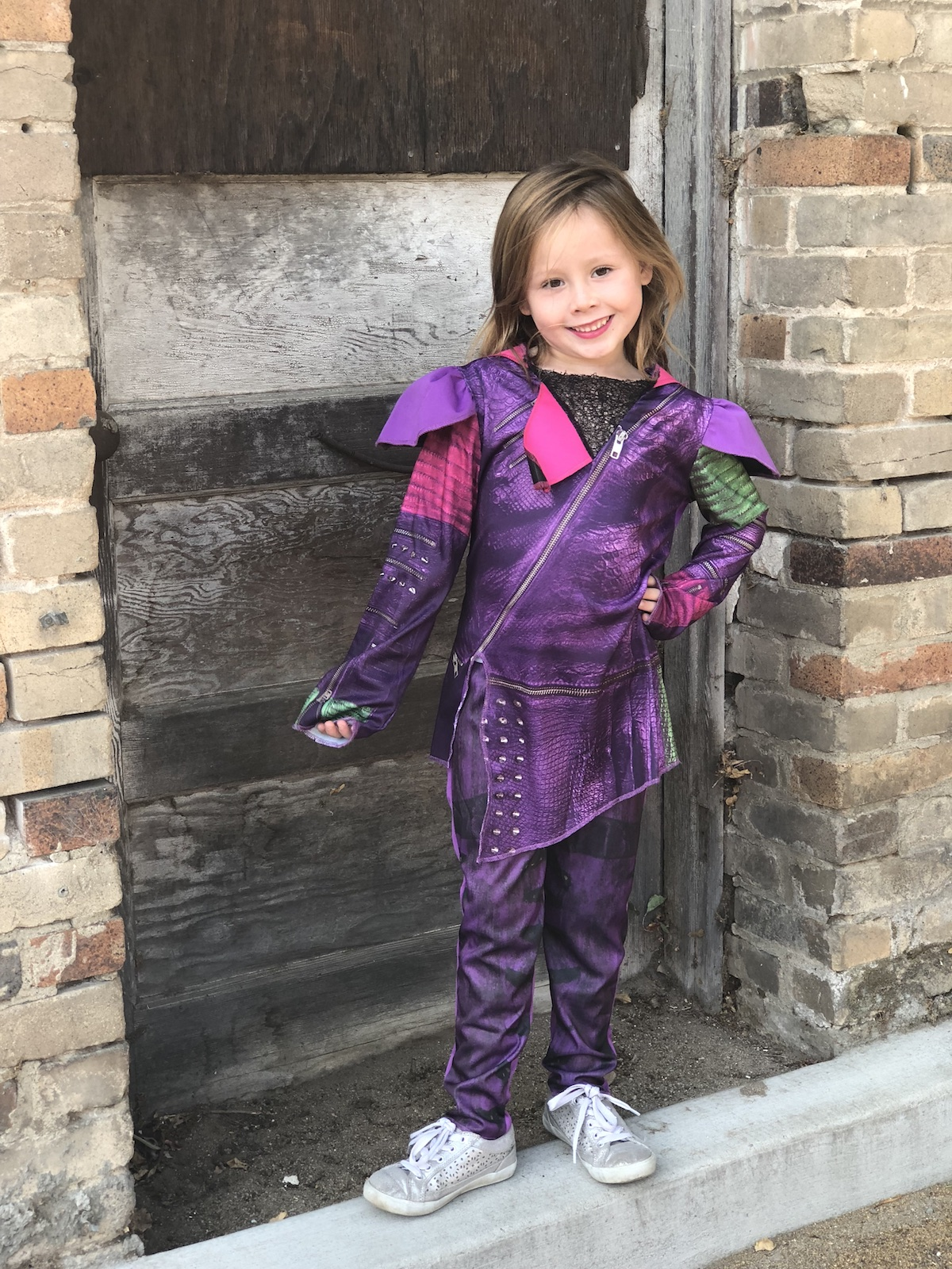 Mal from Descendants Halloween Costume