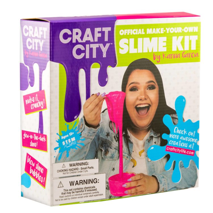 Karina Garcia's Craft City Slime Kit Review + Giveaway