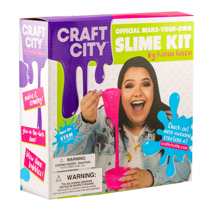 Karina garcias craft city slime kit review giveaway the naptime craft city slim kit solutioingenieria Images