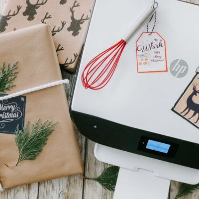 Free Printable Gift Tags + Photo Ornaments Ideas