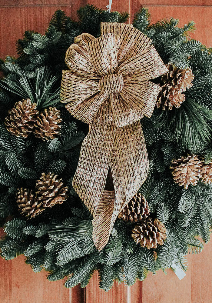 Fresh Christmas Wreaths from Christmas Forest