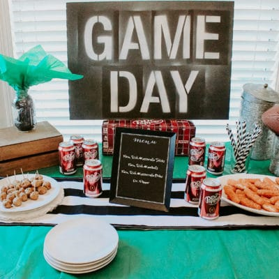 """Throw a """"Homegating"""" Football Party"""