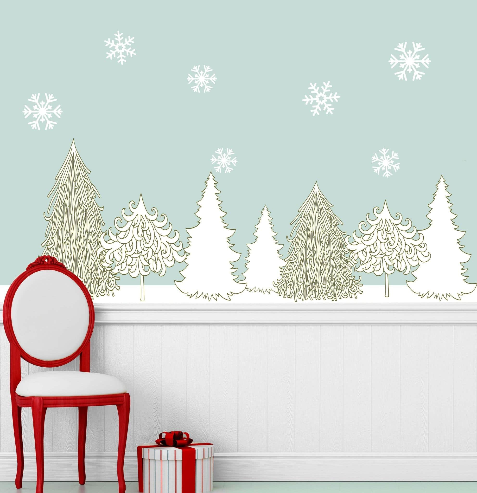 Winter Wall Decals
