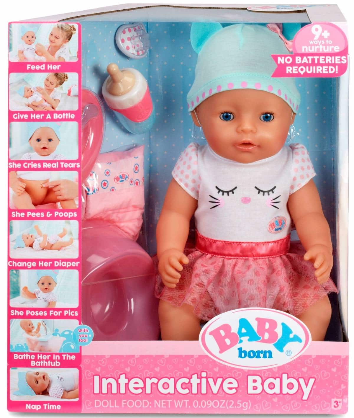 Baby Born Interactive Doll The Naptime Reviewer
