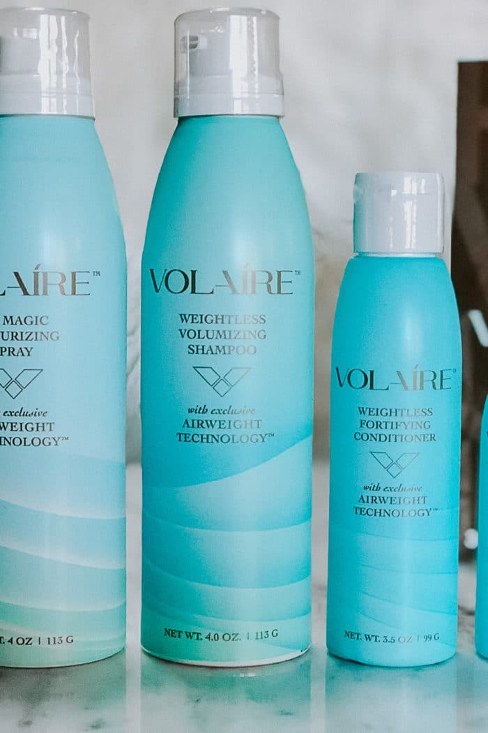 Voluminous Hair with VOLAIRE
