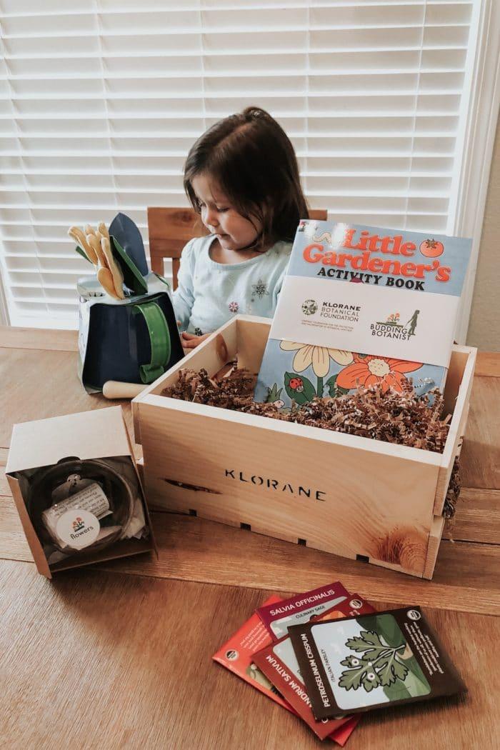 Teaching Children to Learn Through the Garden