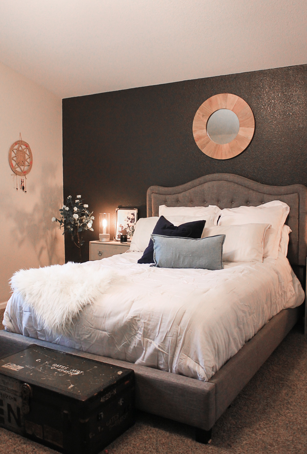 master bedroom accent wall master bedroom accent wall ideas the naptime reviewer 15977