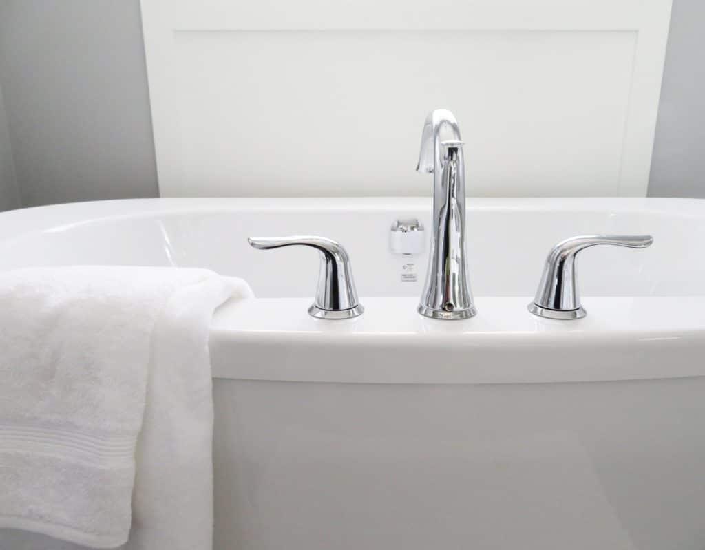 Modern Bathtub - Master Bathroom Updates