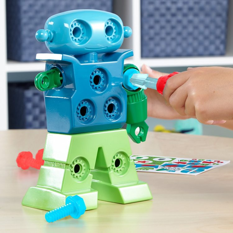 Design & Drill Robot Toy for Kids