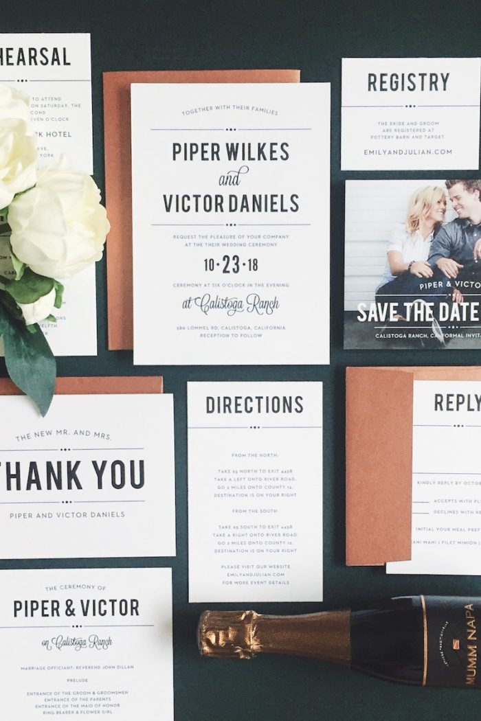 My Favorite 2018 Invitation Design Trends