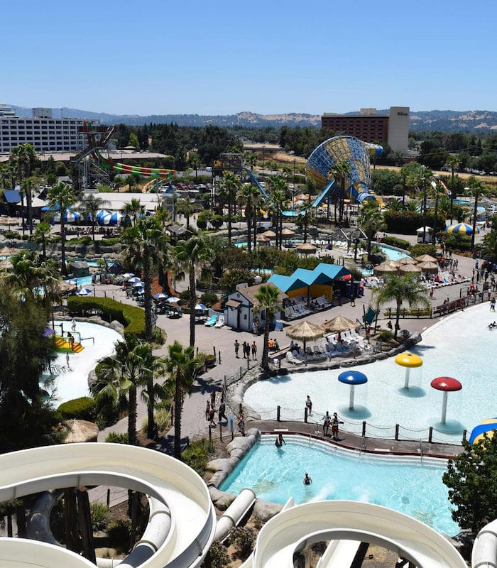 Six Flags Hurricane Harbor Water Park in Concord, California