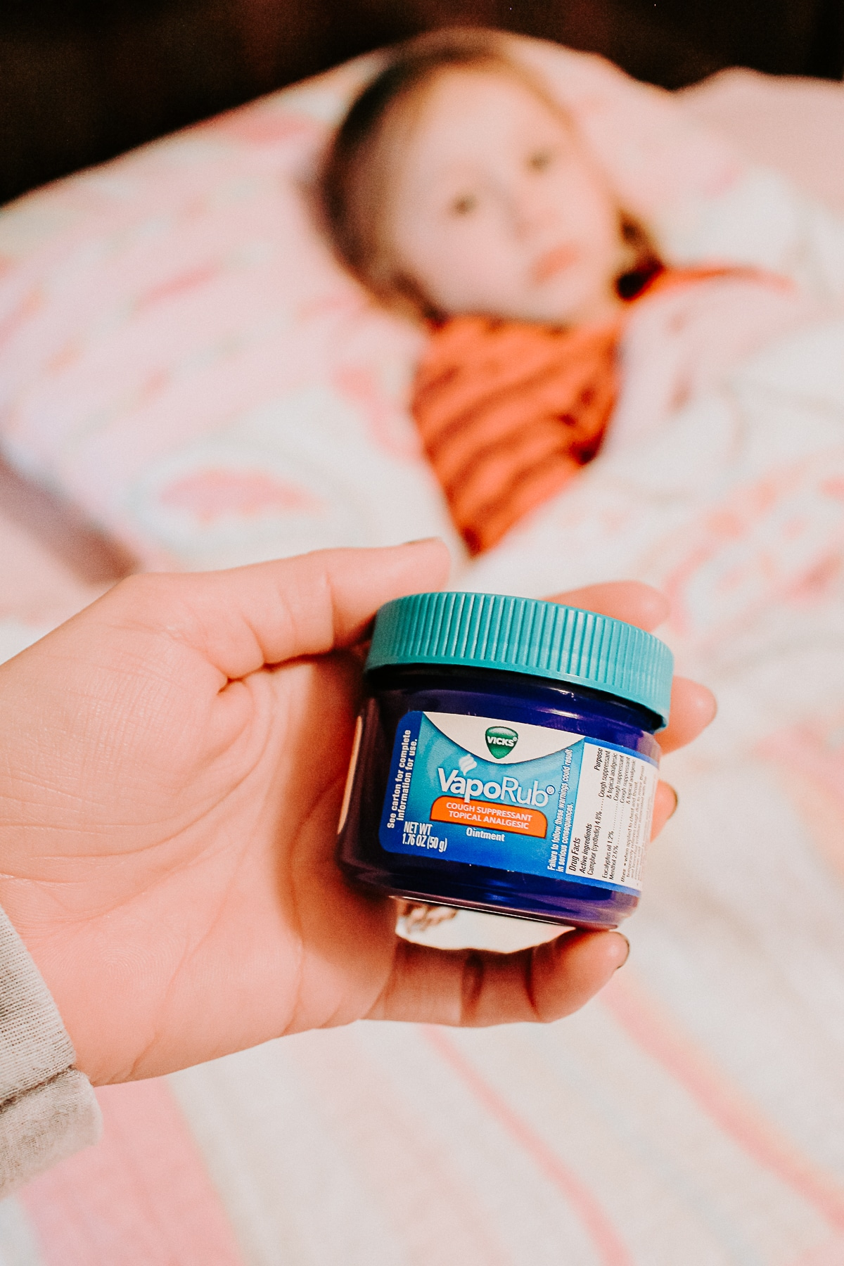 Vicks VapoRub as Cough Relief for Kids