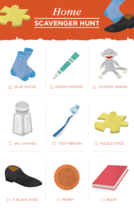 Free Printable Scavenger Hunt for Kids