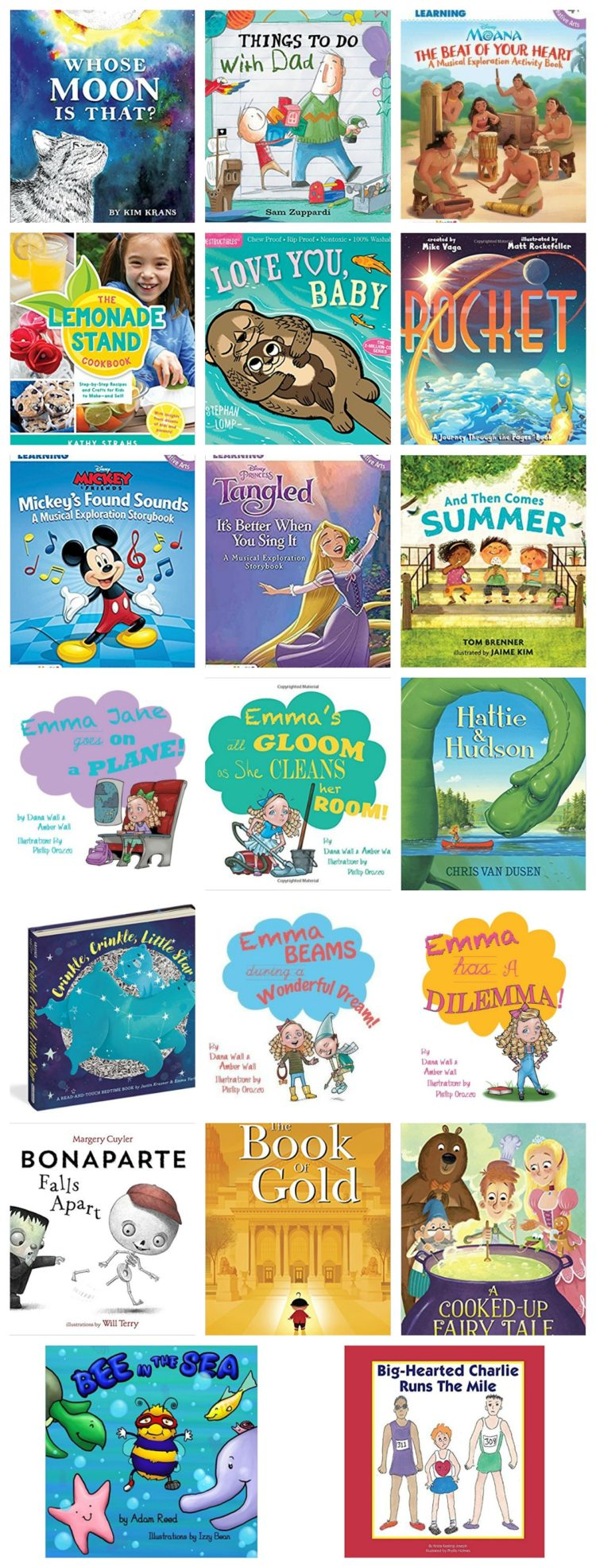 Book List for Young Kids