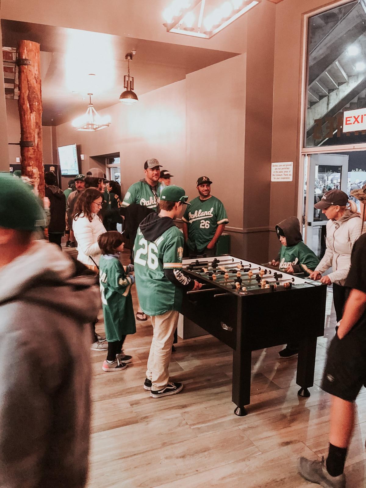 Oakland A's Treehouse