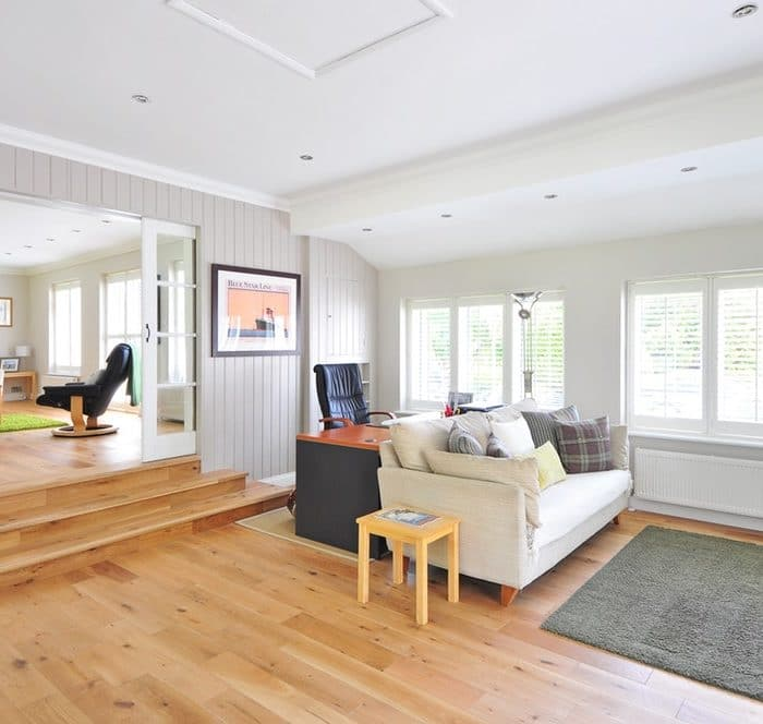 LIving Room Hardwood Floors