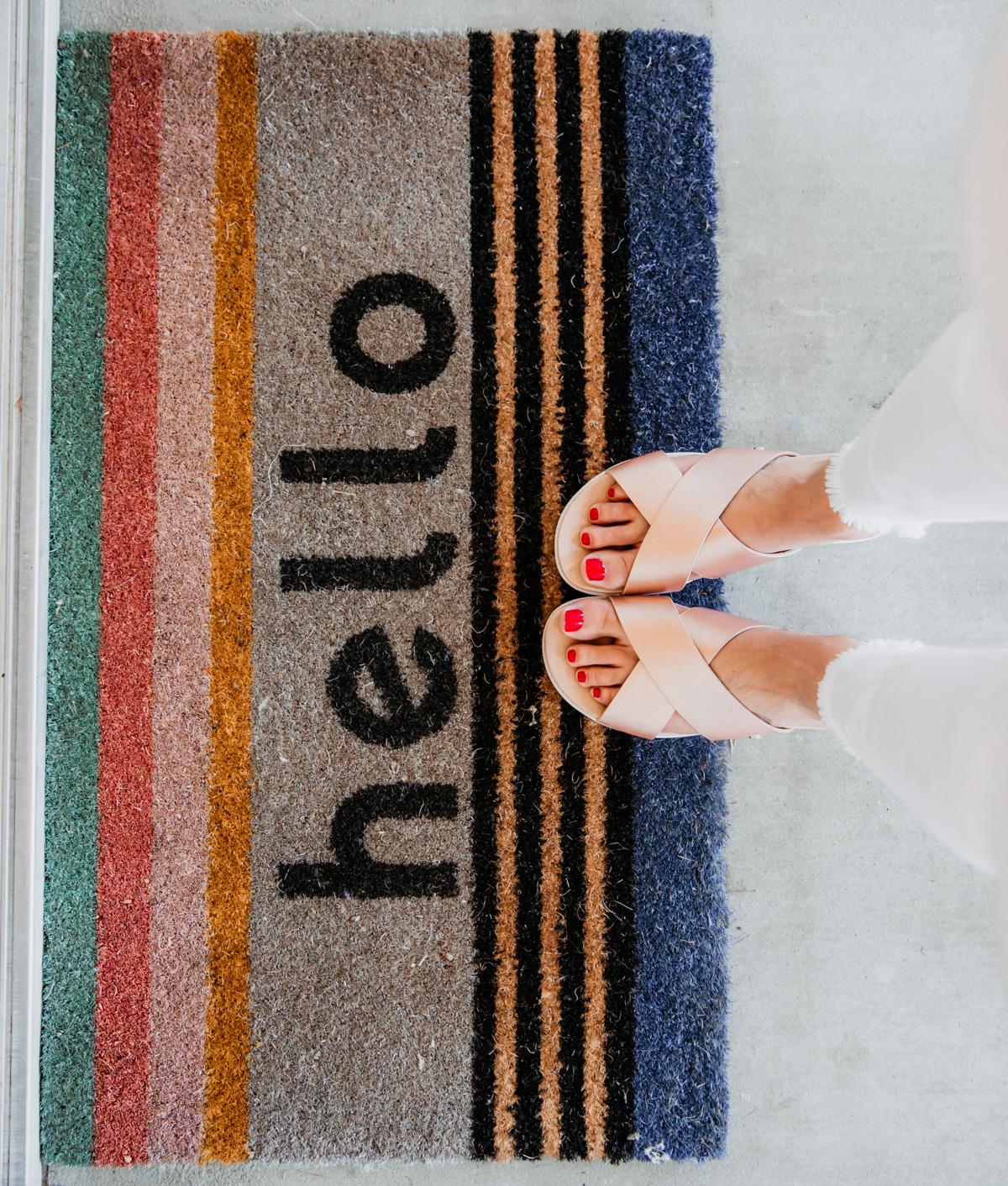 Rose Gold Ugg Sandals