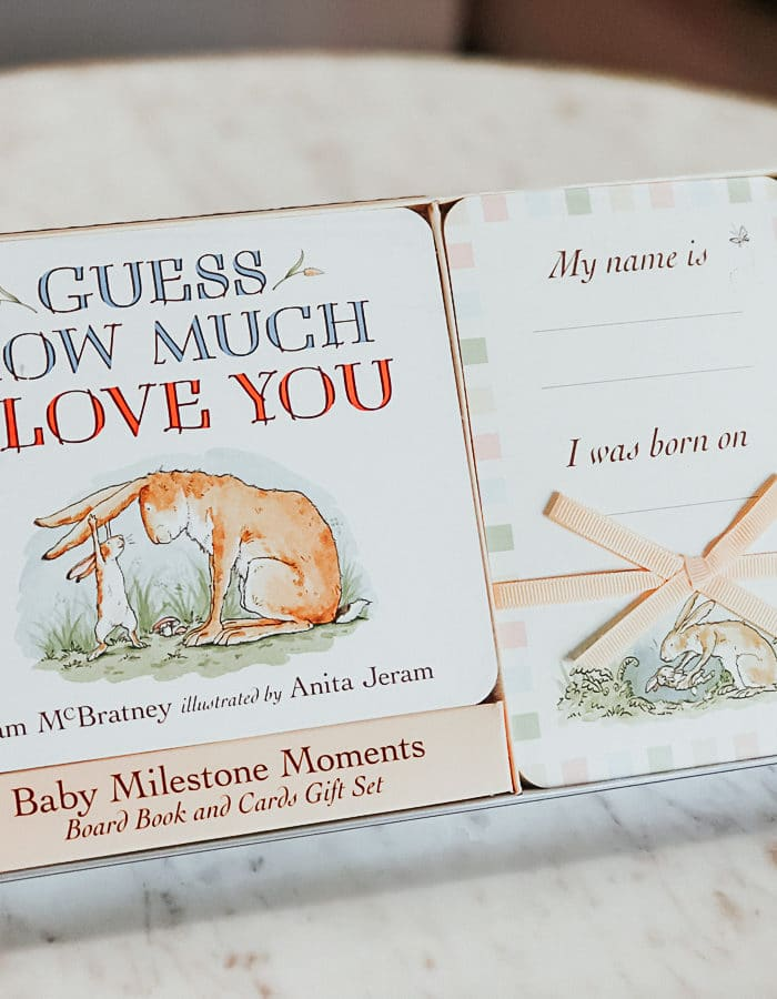 Guess How Much I Love You: Baby Milestone Moments Review + Giveaway
