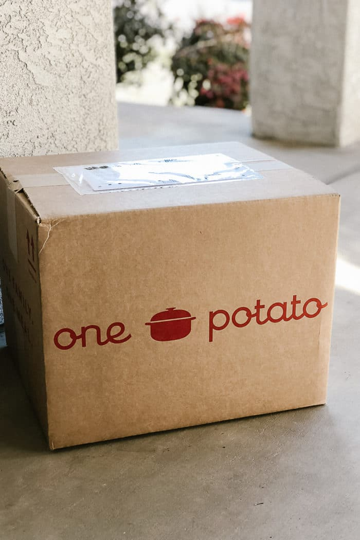 One Potato Meal Delivery Service Review + Promo Code