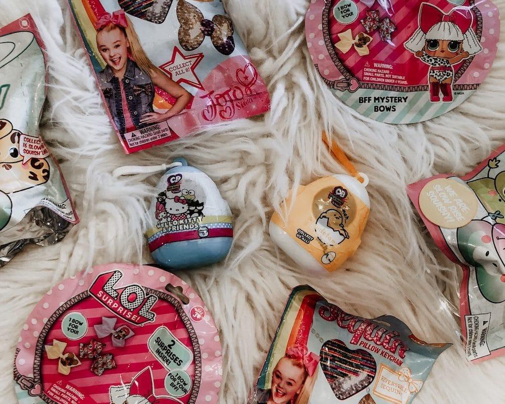 Squish 'Ums, LOL Mini Bows, JoJo Siwa Keychains, Cutie Beans, & Gudetama – The Blind Bag Craze Continues